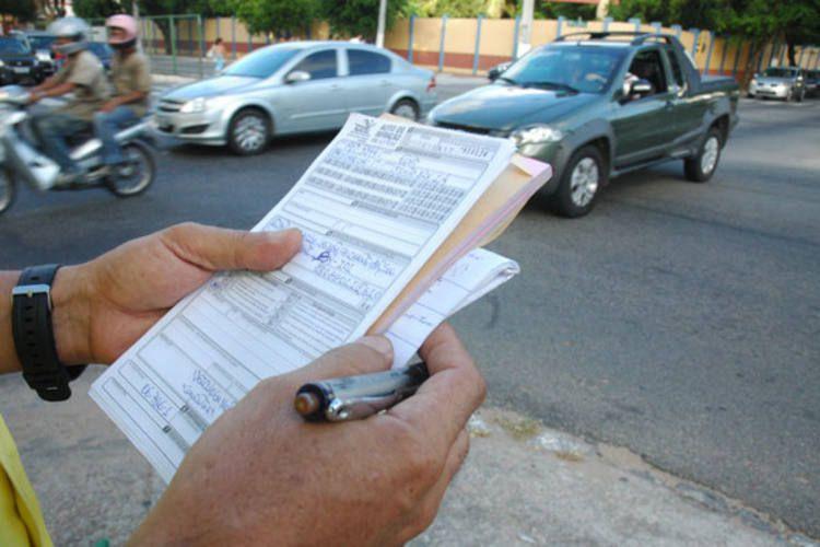 Multa de trânsito pode ser convertida em advertência | Foto: Reprodução