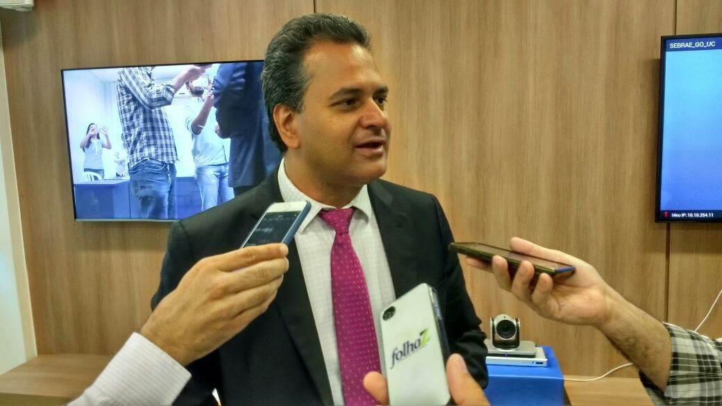 Diretor superintendente do Sebrae Goiás Igor Montenegro   Foto: Folha Z
