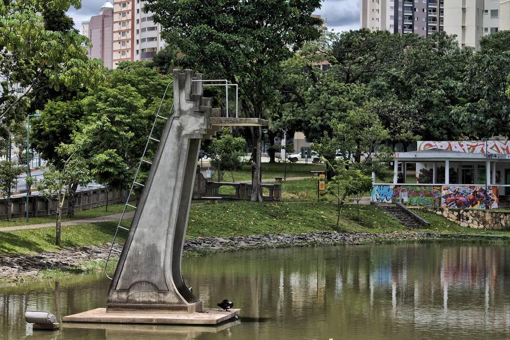 Parque Lago das Rosas é cenário da criminalidade em Goiânia | Foto: Getúlio Gracelli Júnior