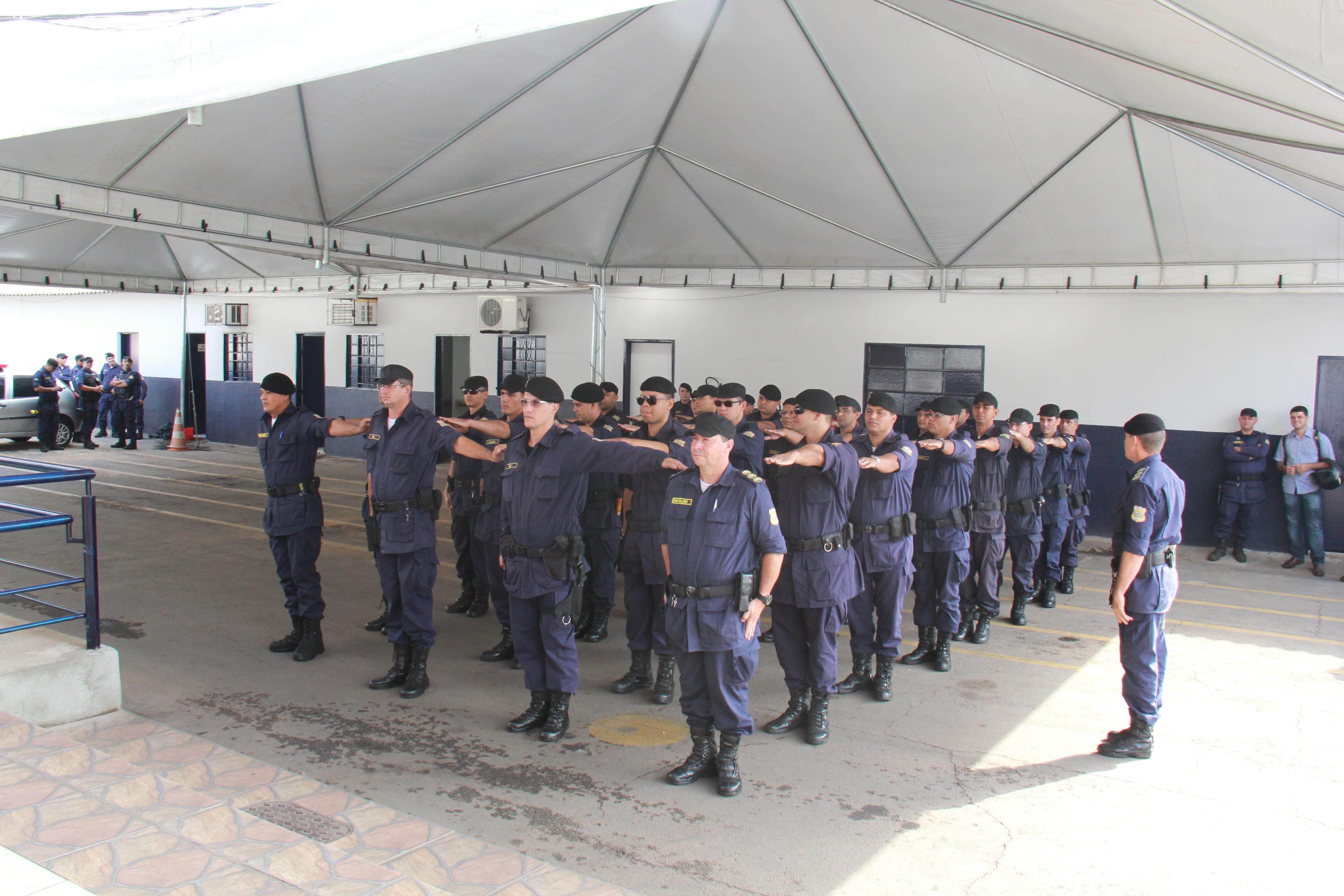 Guarda Municipal de Goiânia | Foto: Cecílio Alves