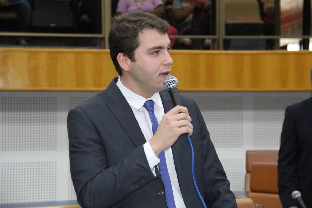Vereador Lucas Kitão (PSL) | Foto: Divulgação
