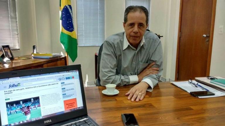 Presidente do Sindilojas-Goiás, José Carlos Palma Ribeiro | Foto: Guilherme Coelho