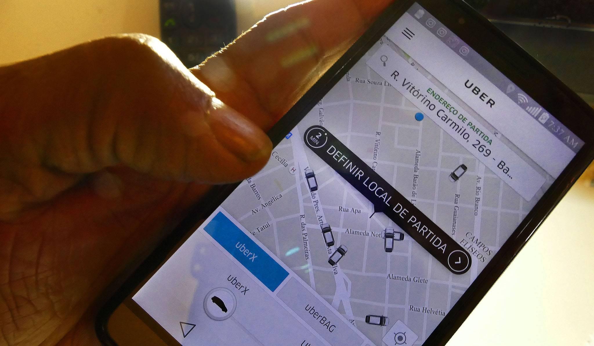 Taxa ao aplicativo Uber entra em discussão em Aparecida de Goiânia   Foto: Filipe Araújo/Fotos Públicas