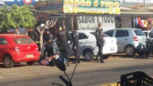 Abordagem ocorreu na Avenida Pedro Ludovico. | Foto: Divulgação