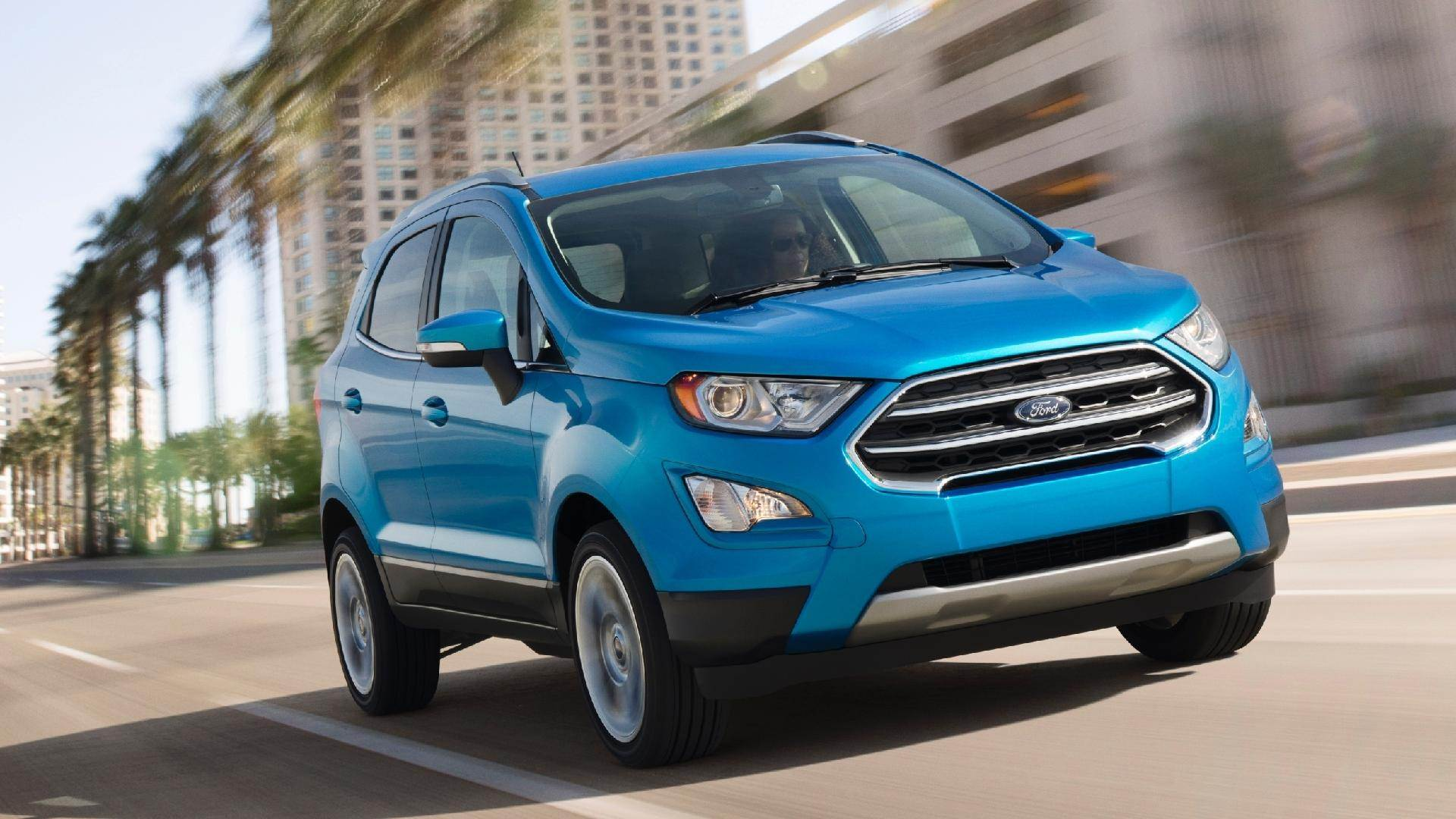 6º lugar: Ford Ecosport – 35 pontos | Foto: Divulgação