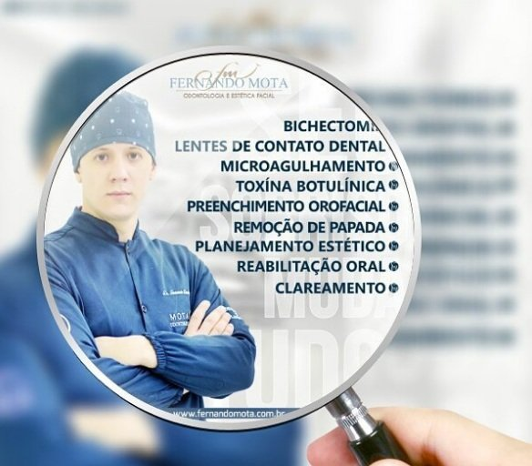 Doutor Fernando Mota: clareamento dental