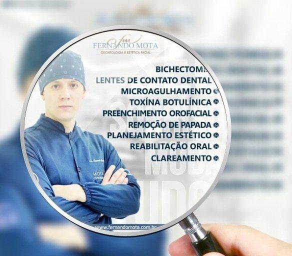 Doutor Fernando Mota: clareamento dental
