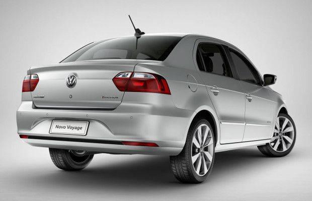3º lugar: VW Voyage