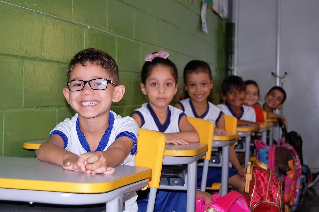 Alunos da rede municipal de Goiânia retornam às aulas | Foto: Eulices Maria