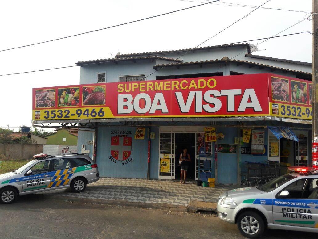 Supermercado no Residencial Boa Vista, em Senador Canedo, Região Metropolitana de Goiânia   Foto: Divulgação/PM