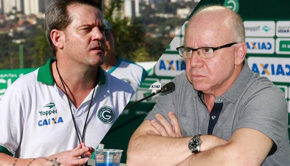 Argel Fucks e Sérgio Rassi devem deixar o Goiás | Foto: Rosiron Alves/Goiás EC