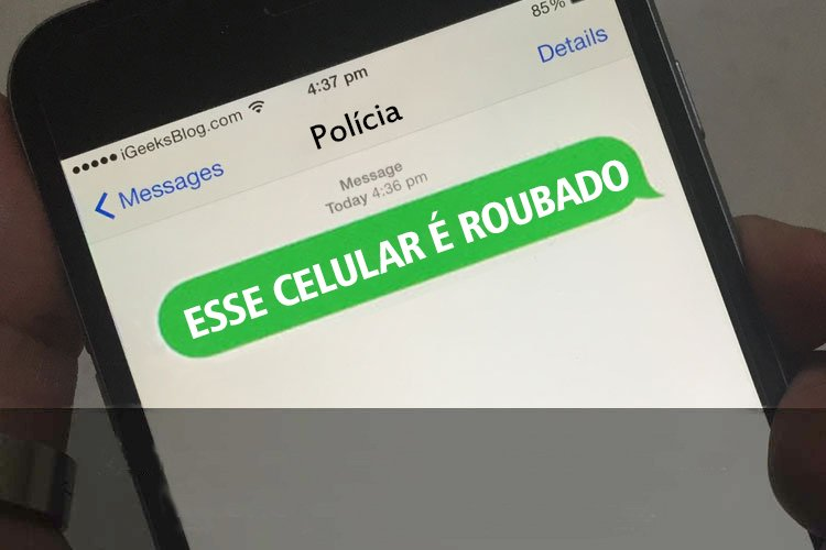 Mensagem surpreendeu vítima em Goiânia   Foto: Ilustrativa