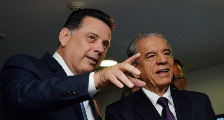 Governador Marconi Perillo e prefeito Iris Rezende   Foto: Wagnas Cabral