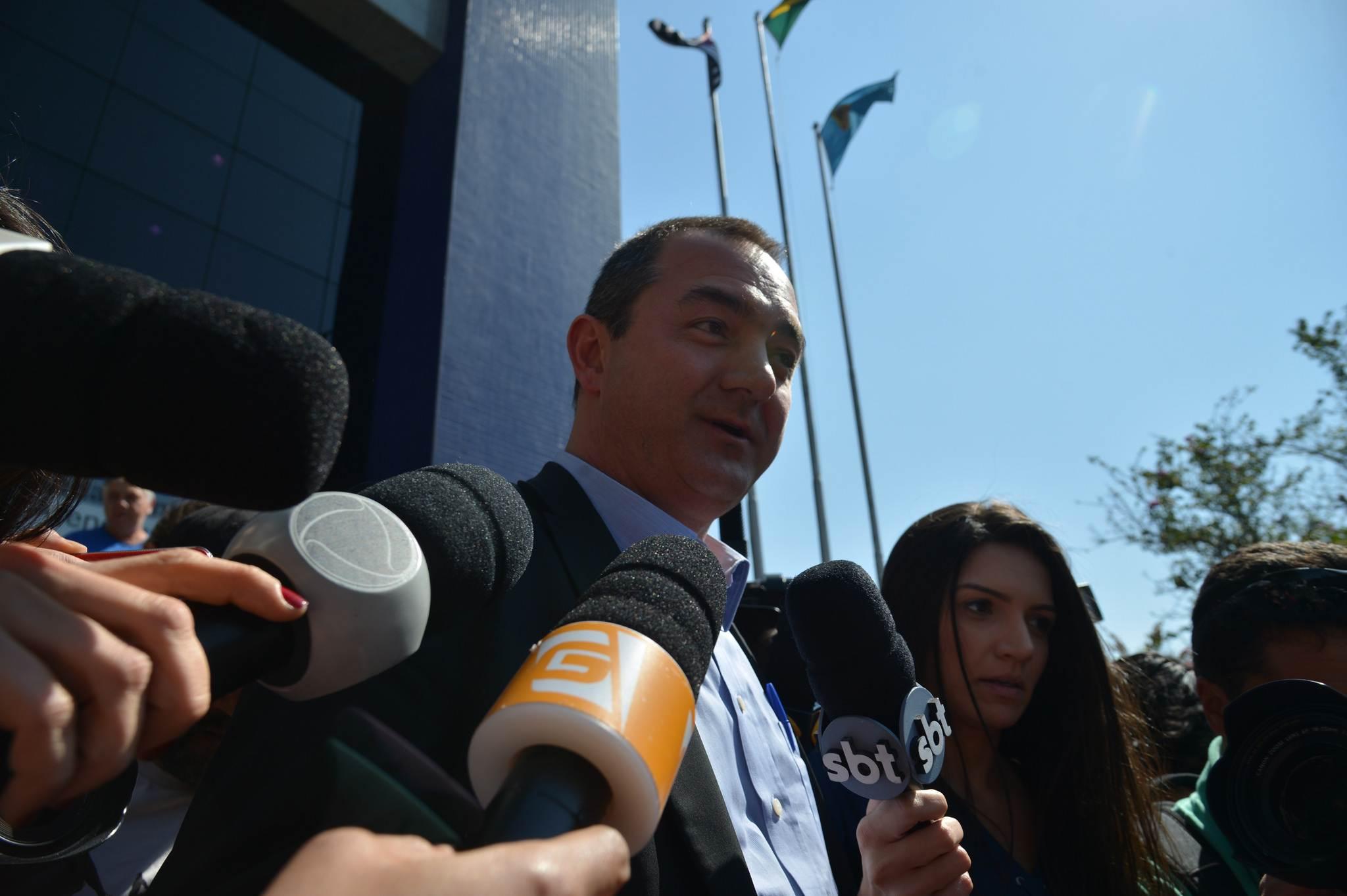 Joesley Batista presta depoimento na Polícia Federal em SP | Foto: Rovena Rosa/Agência Brasil)