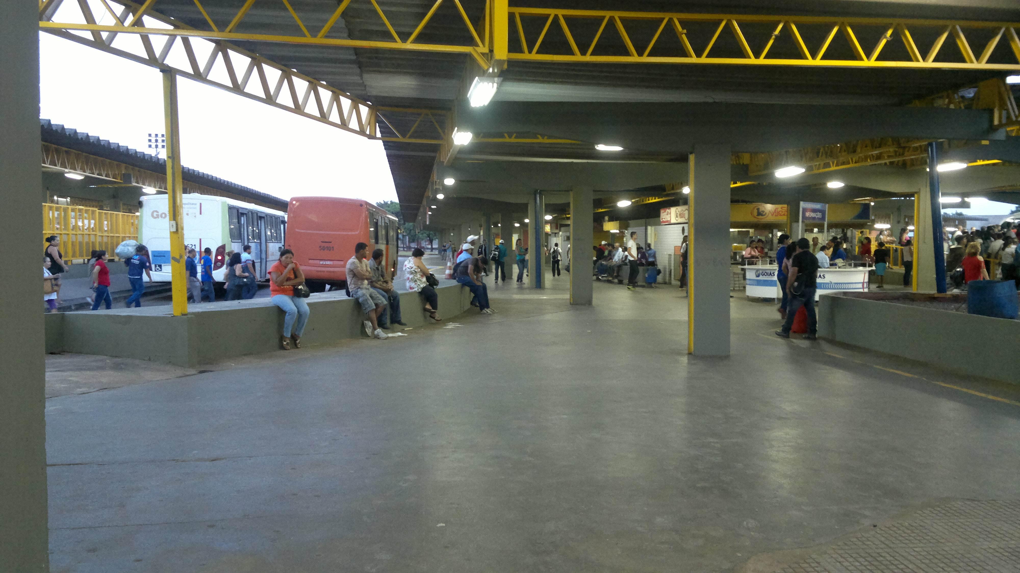 Padre Pelágio foi palco de mais um crime violento em Goiânia | Foto: Reprodução/Metrobus