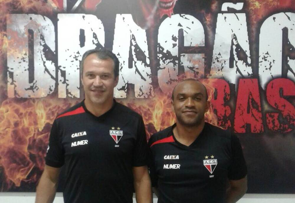 Romerito e Weslley farão parte da comissão técnica do Sub-17 do Dragão | Foto: Divulgação/Atlético-GO