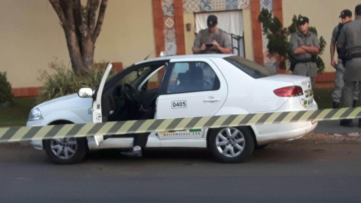 Taxista de 58 anos levou dois tiros e não resistiu aos ferimentos | Foto: Leitor FZ