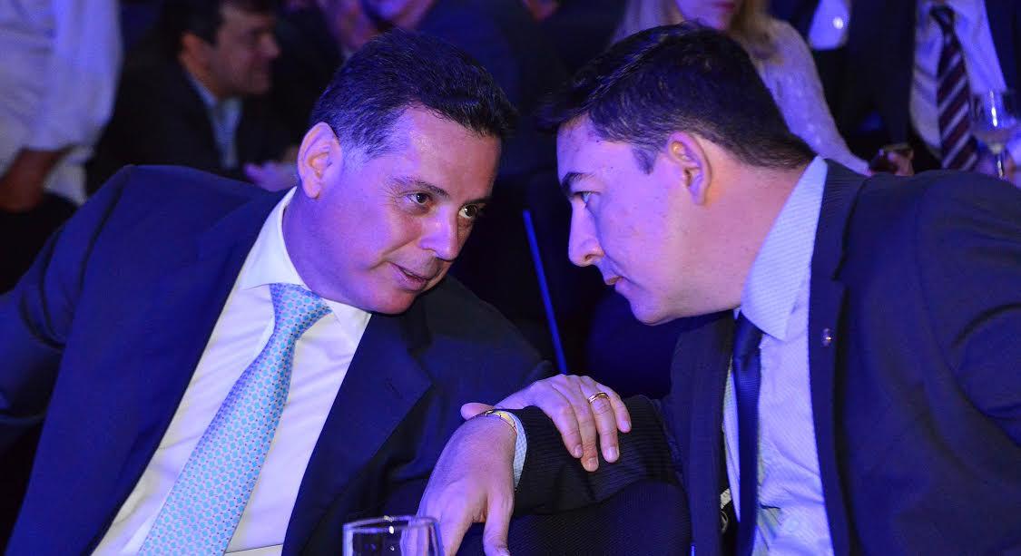 Governador Marconi Perillo e presidente da Alego José Vitti   Foto: Reprodução
