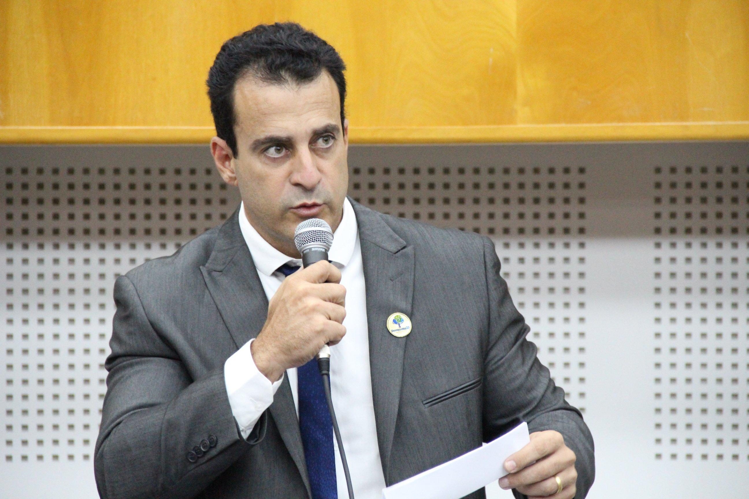 Vereador Paulo Daher (DEM), autor da proposta   Foto: Reprodução / Câmara Municipal
