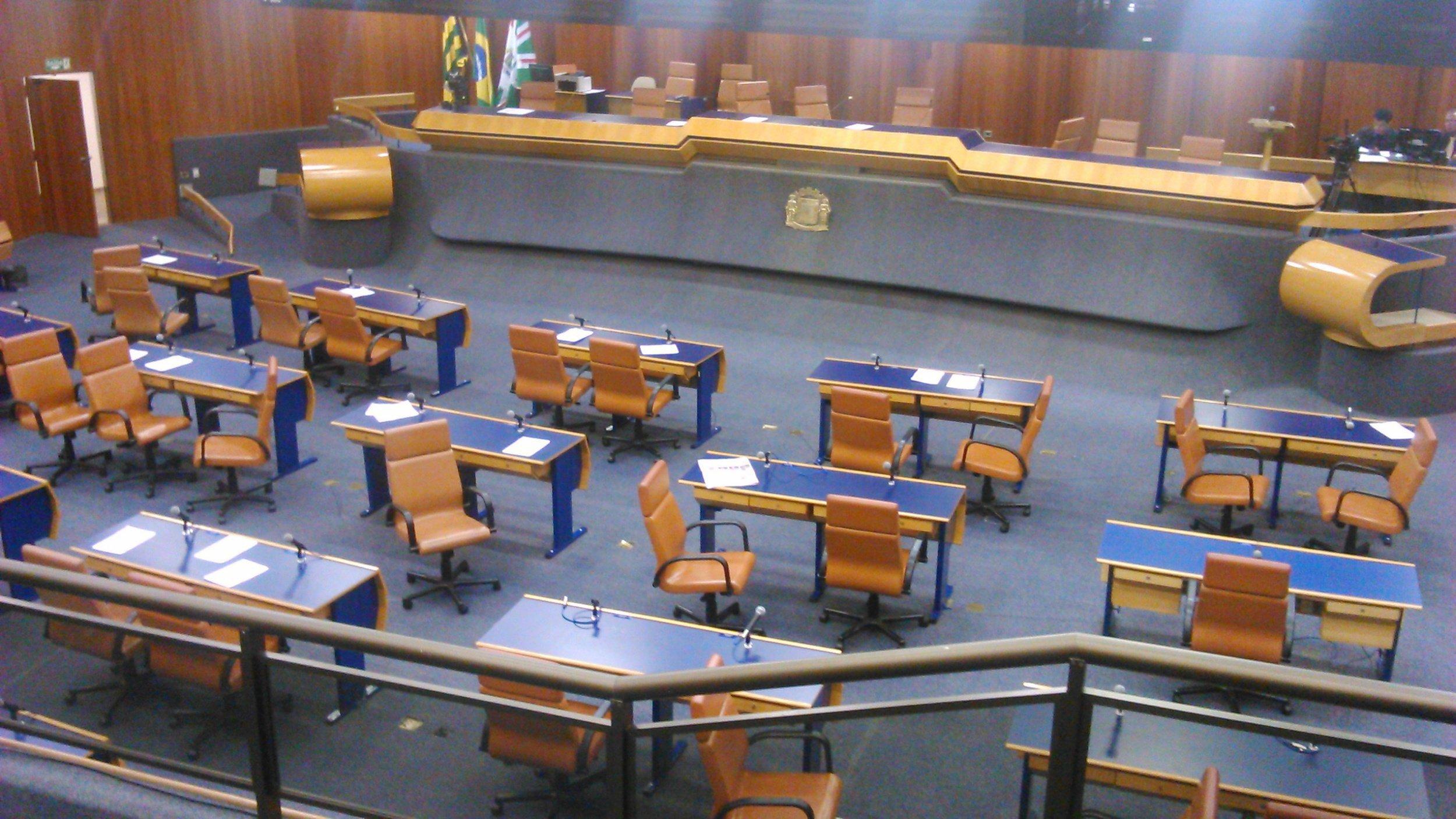 Plenário da Câmara de Goiânia tende a ficar mais cheio caso projeto seja aprovado   Foto: Divulgação