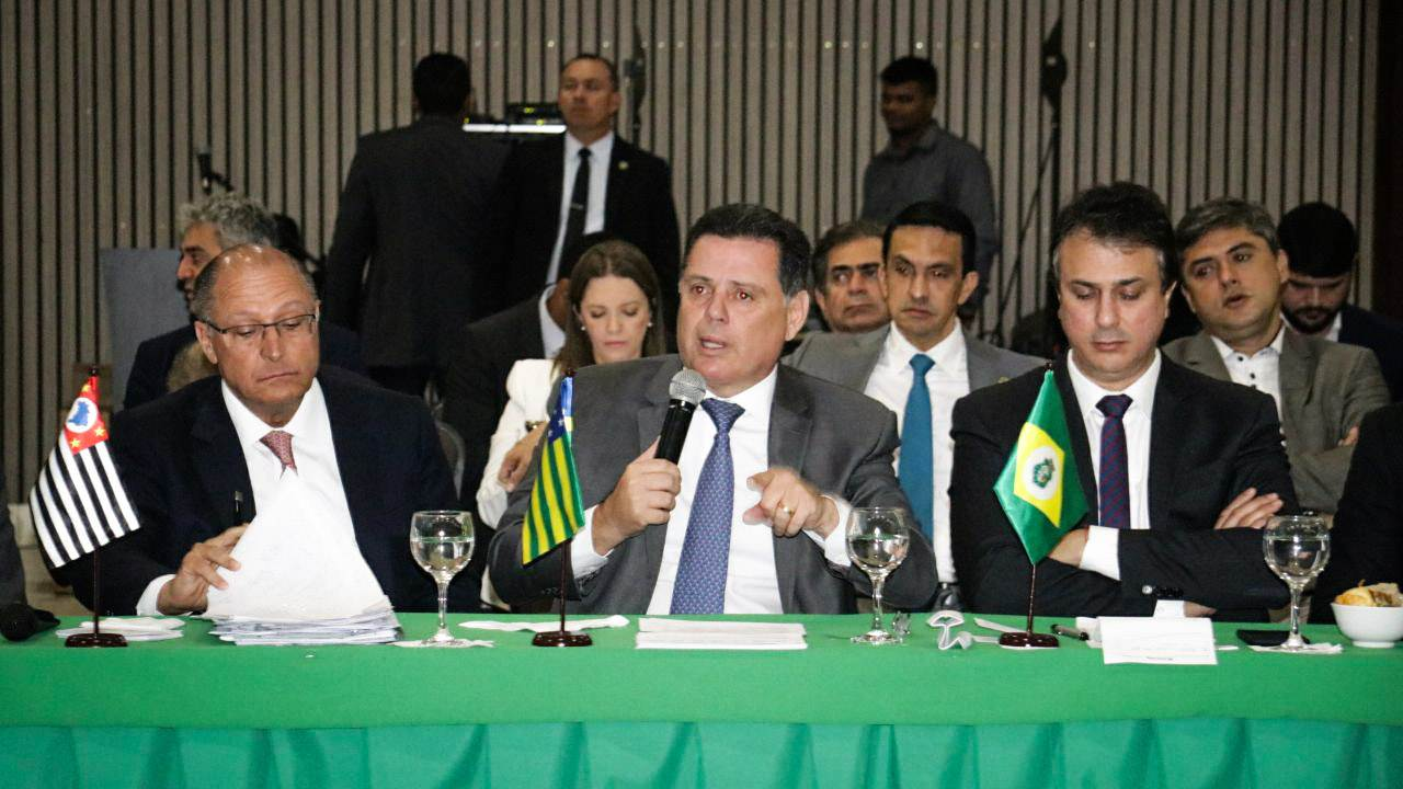 Marconi Perillo em encontro de governadores na capital do Acre | Foto: Pedro Barbosa