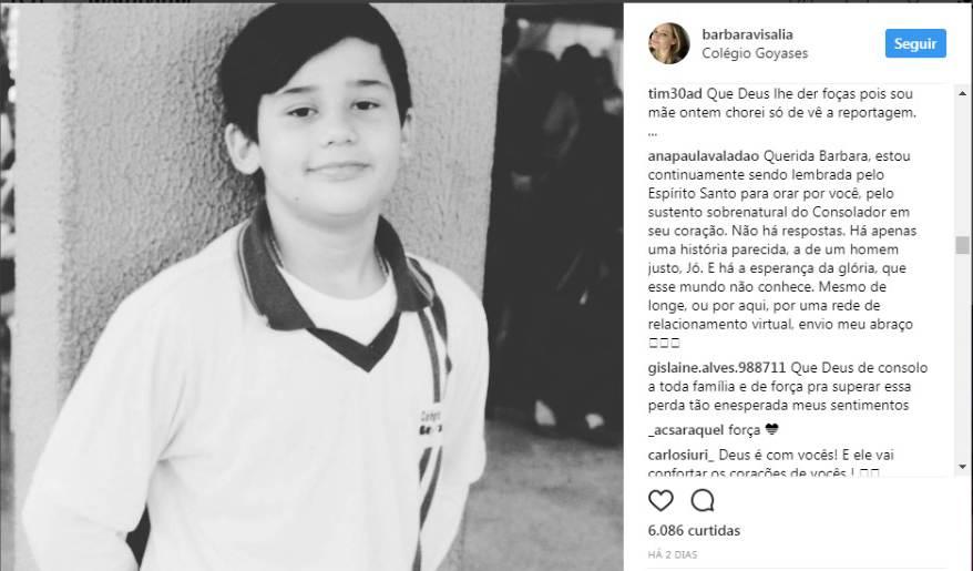 Mensagem de Ana Paula Valadão à mãe que perdeu o filho em atentado | Foto: Reprodução / Instagram