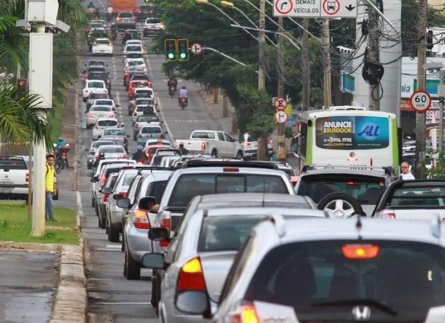 Radares registram grande volume de infrações de trânsito em Goiânia | Foto: Reprodução