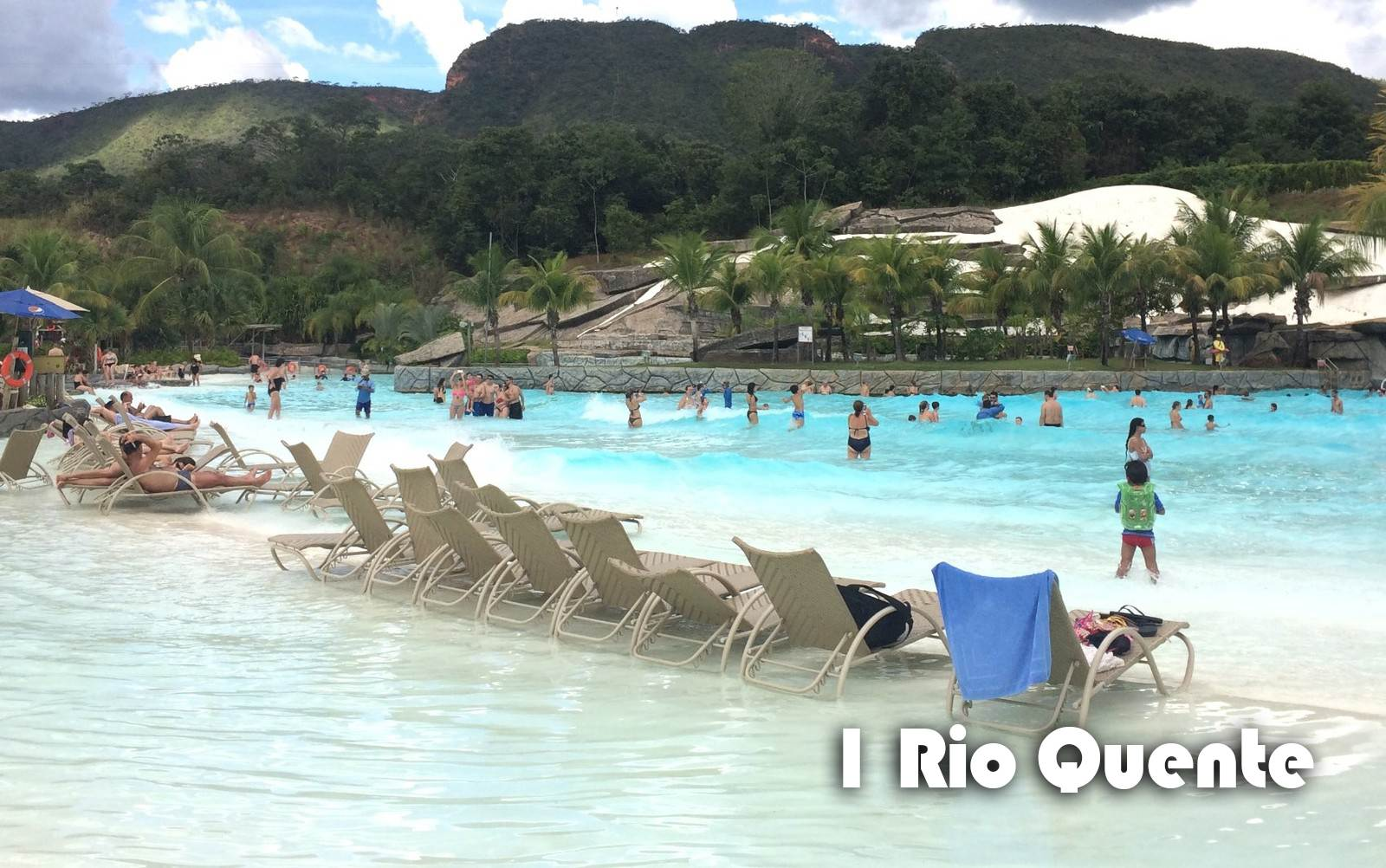 Em Rio Quente, o Hot Park é um dos maiores parques aquáticos de águas termais do mundo | Foto: Divulgação