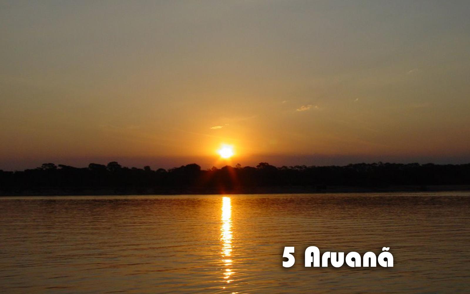 Para quem não conhece o Rio Araguaia, a cidade de Aruanã é chance certa de se apaixonar | Foto: Reprodução