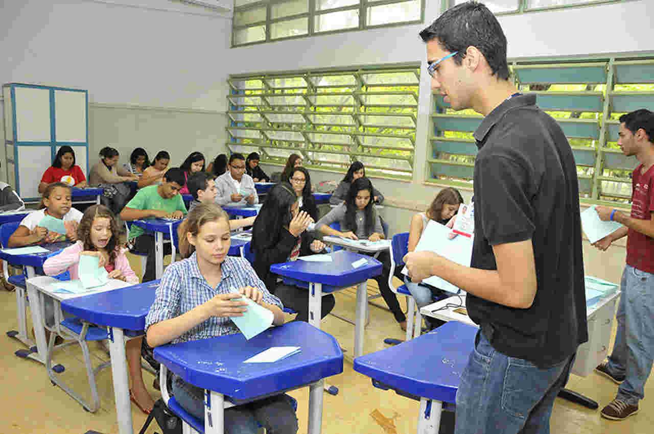 Centro de Pesquisa Aplicada à Educação (Cepae) da Universidade Federal de Goiás (UFG) abriu inscrições para o sorteio de vagas   Foto: Carlos Siqueira