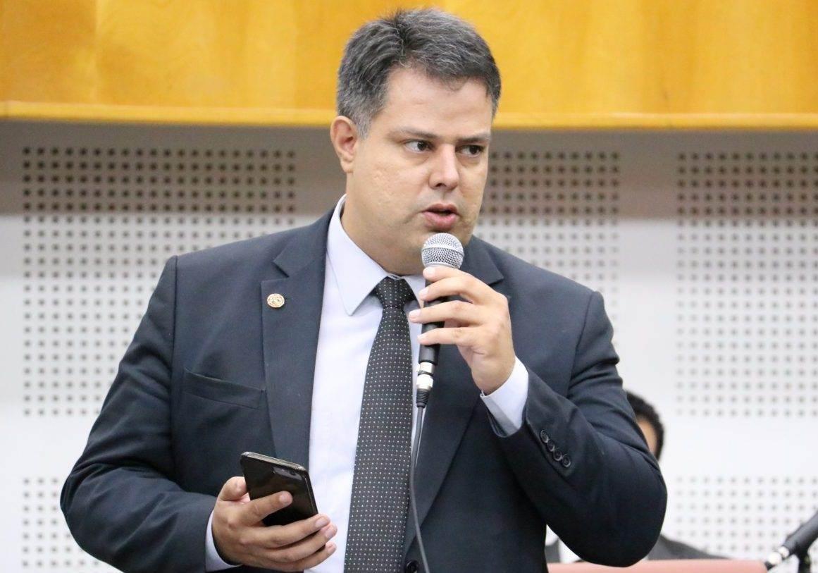 Vereador Delegado Eduardo Prado (PV) | Foto: Câmara de Goiânia