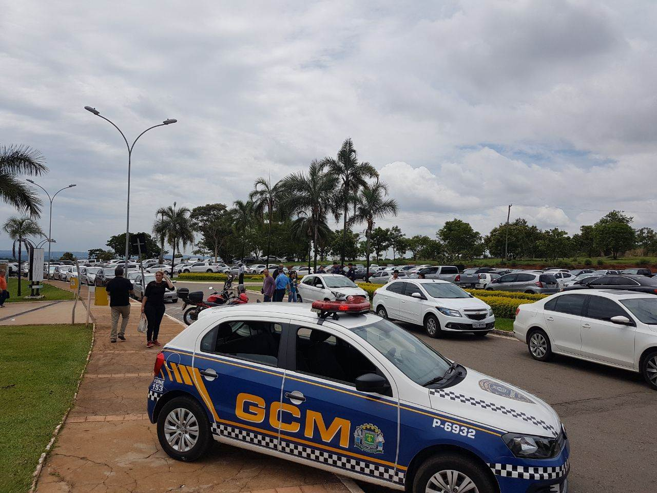 Ação rápida da Guarda Civil Metropolitana (GCM) preveniu êxito de criminosos   Foto: Folha Z
