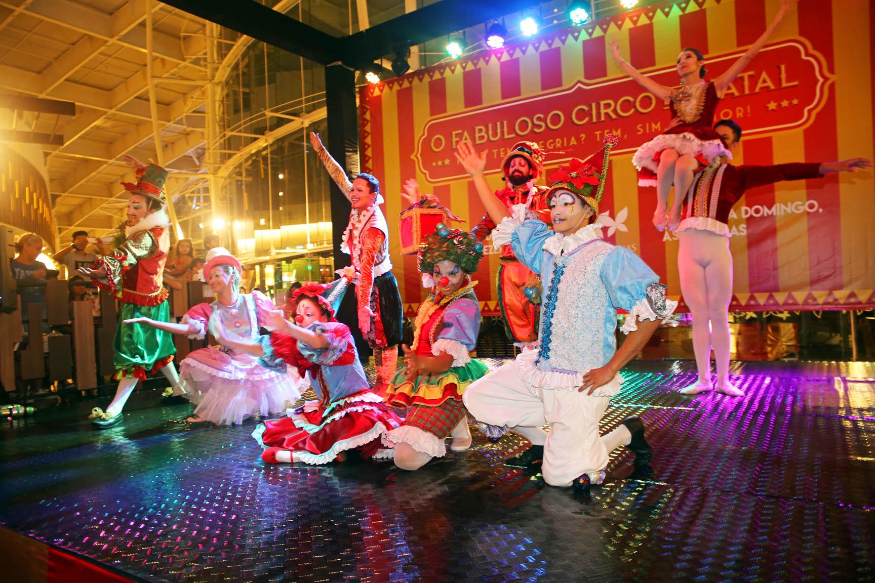'Fabuloso Circo de Natal' trará mágica, acrobacia e palhaços a Goiânia   Foto: Marcos Cardoso