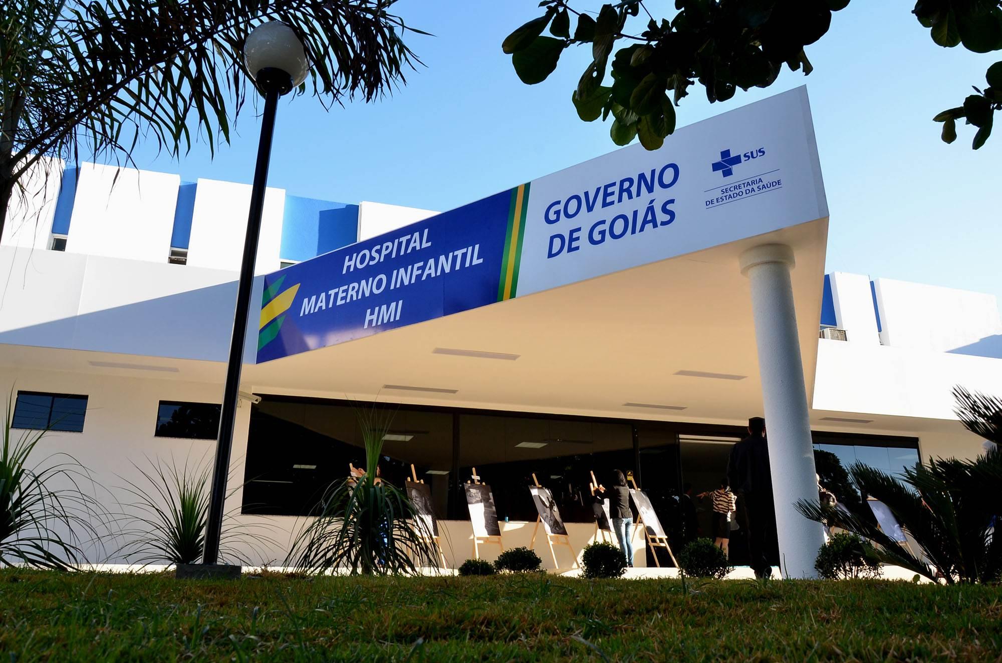 Criança com suspeita de H1N1 é internada no Hospital Materno Infantil (HMI), em Goiânia | Foto: Eduardo Ferreira