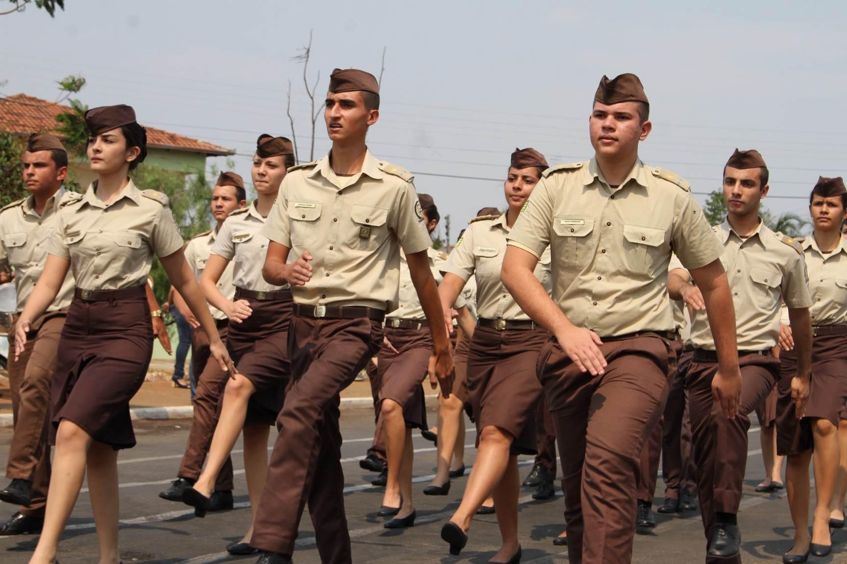 Número de Colégios Militares em Goiás aumentou nos últimos anos | Foto: Léo Iran