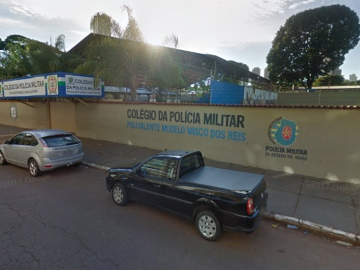Colégio da Policia Militar de Goiás Unidade Polivalente Modelo Vasco dos Reis | Foto: Divulgação