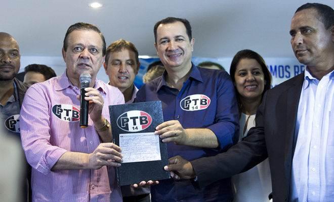 Prefeito de Águas Lindas Hildo Candango está de volta ao PTB | Foto: Alê Moraes