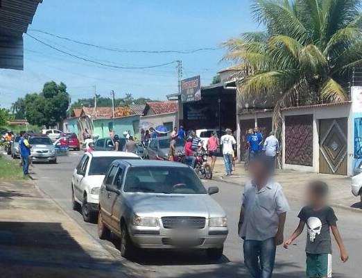 Em Aparecida, homem é assassinado com 10 tiros no rosto | Foto: Leitor/ WhatsApp