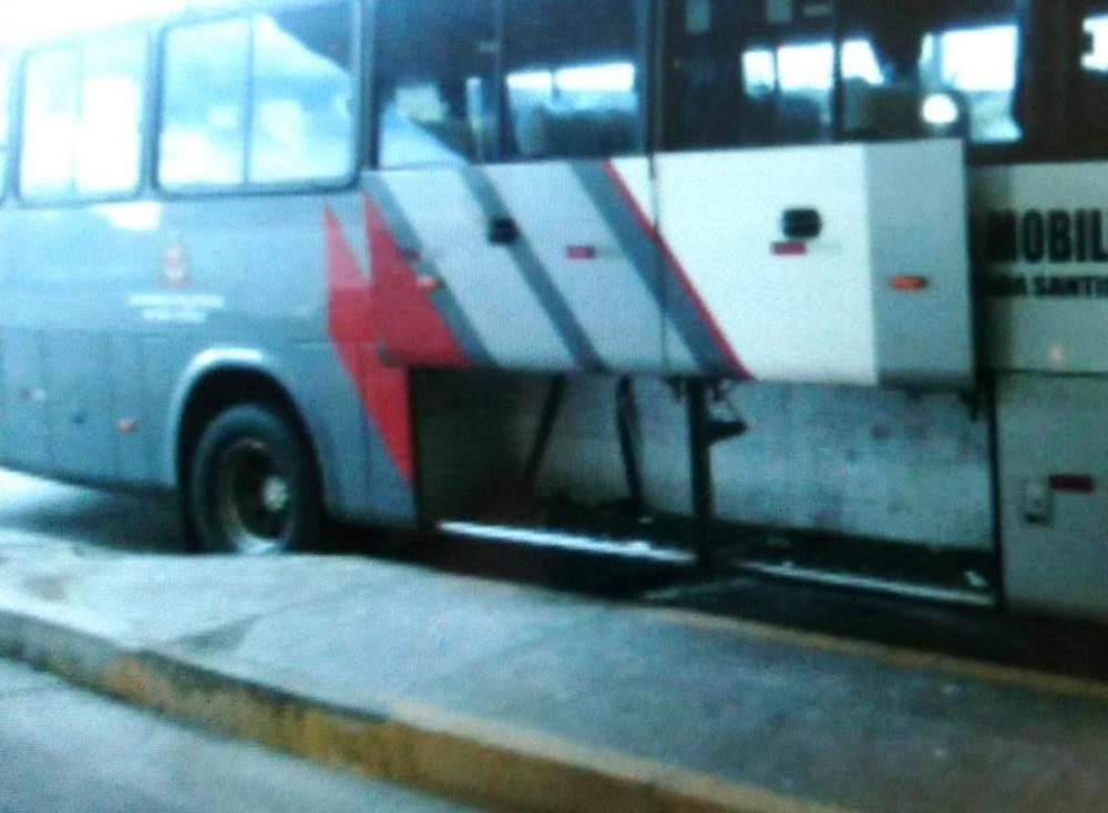 Cachorro morre de calor e asfixia em bagageiro de ônibus em SP | Foto: Divulgação/ Polícia Militar Ambiental de SP