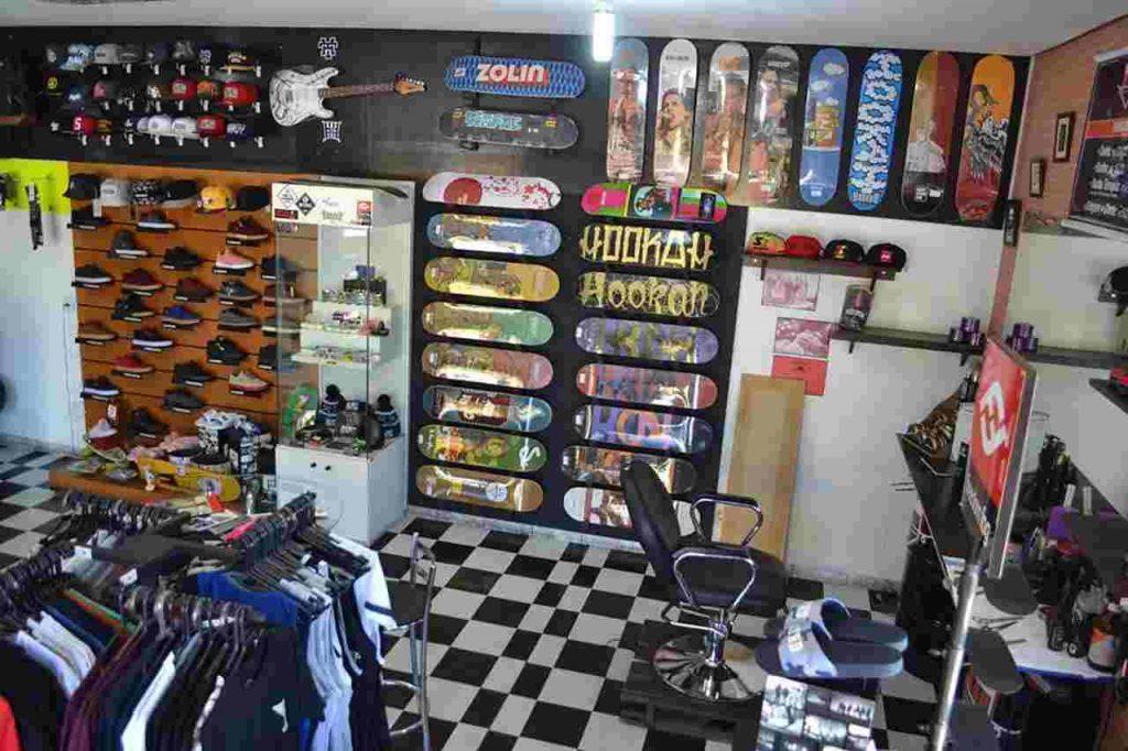 Slap Skate Shop & Barbearia | Foto: Reprodução