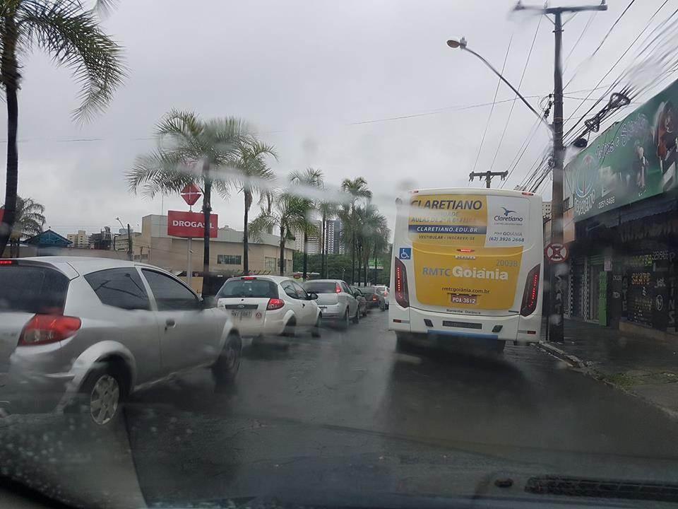 Instituto Nacional de Meteorologia (INMET) publicou um alerta sobre o clima em Goiânia | Foto: Folha Z