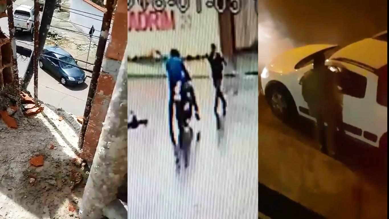 De furtos a assaltos, imagens gravadas na última semana flagram a violência no Jardim América | Fotos: Reprodução