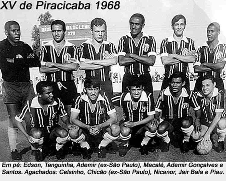 Sebastião Macalé também fez história pelo paulista XV de Piracicaba   Foto: Reprodução