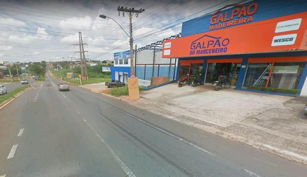 Motociclista morre após ultrapassagem irregular em Aparecida de Goiânia | Foto: Google Maps