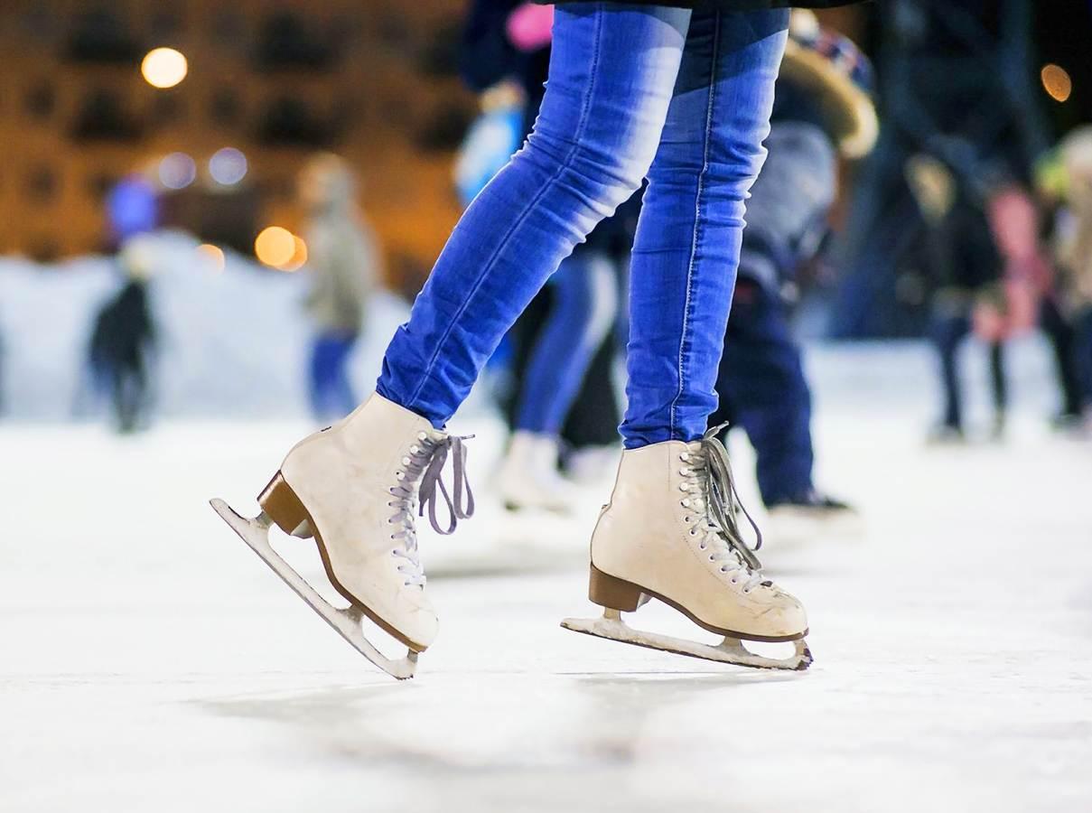 Pista de patinação no gelo em Goiânia | Foto: Reprodução