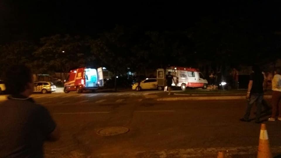 Policiais militares são baleados em Caldas Novas e encaminhados para a Unidade de Pronto Atendimento (UPA)   Foto: Divulgação