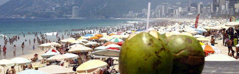 Praia de Copacabana | Foto: Reprodução