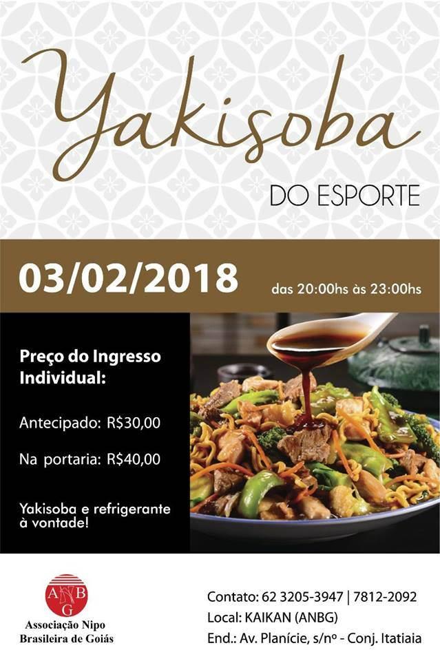 Yakisoba, salada, arroz e refrigerante À VONTADE são destaque de evento em Goiânia | Foto: Reprodução