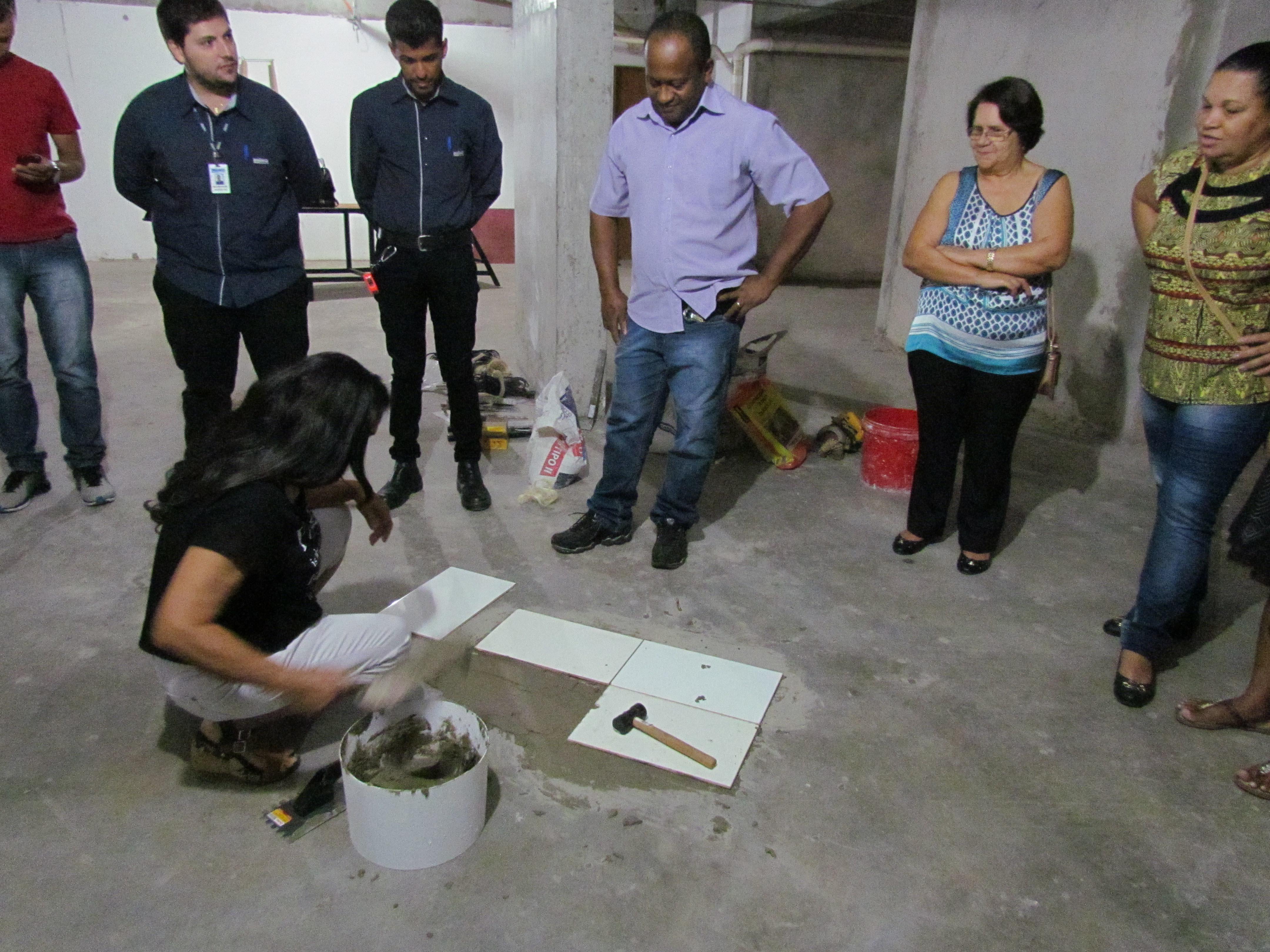 Curso simples de Construção Civil será ofertado gratuitamente por construtora para mulheres em Goiânia | Foto: Divulgação