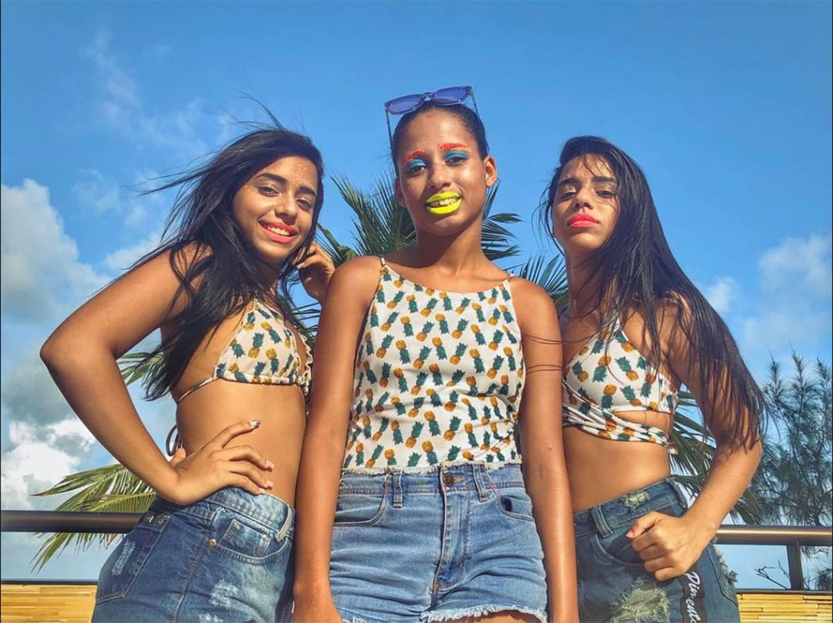 Show de MC Loma e Gêmeas Lacração em Goiânia | Foto: Reprodução